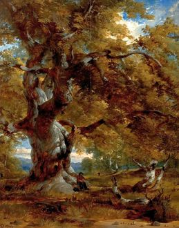 The Major Oak - Henry Dawson