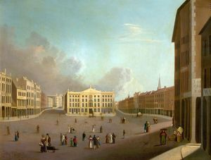 Nottingham Market Place - William Goodacre