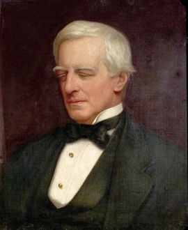 Portrait of Rt. Hon. Robert Lowe, Viscount Sherbrook, by Ethel Mortlock