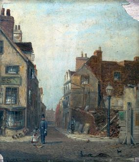 Sheep Lane, Nottingham - Claude Thomas Stanfield Moore