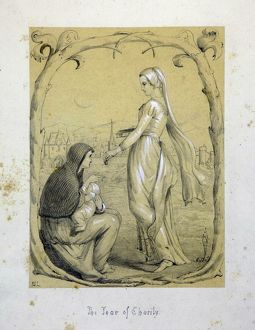 The Tear of Charity by Jessie Macleod, 1850