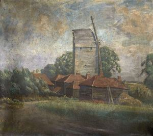 Toot Mill, Toot Hill, Essex - William Brown MacDougall