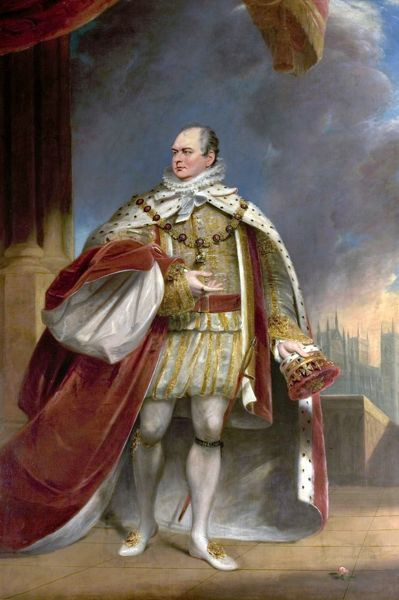 Artist: Lonsdale, James - Title: Augustus Frederick (1773-1843) Duke of Sussex - Date: N/A - Original Medium and Size: Oil on Canvas 316 x 172.5