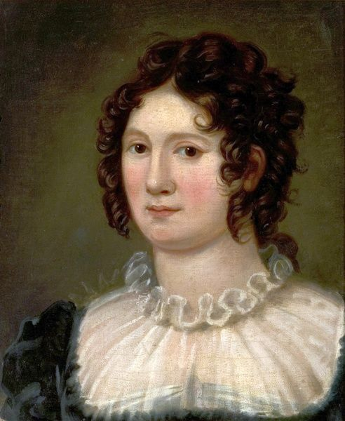 Artist: Curran, Amelia - Title: Claire Clairmont (1798-1879) - Date: 1819 - Original Medium and Size: Oil on Canvas 47 x 35