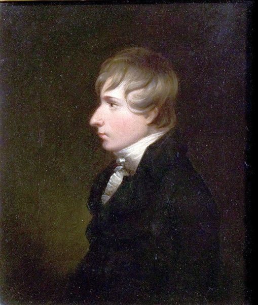 Artist: Barber, Thomas - Title: Henry Kirke White (1785-1806), Poet - Date: N/A - Original Medium and Size: Oil on Canvas 24.8 x 21.3
