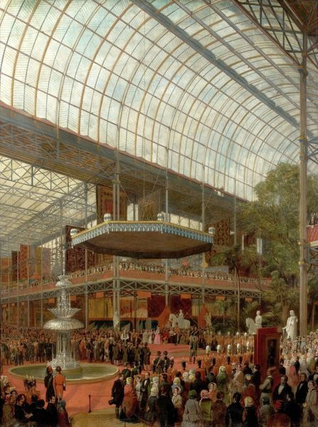 Opening Ceremony of the Great Exhibition 1851, by James Digman Wingfield
