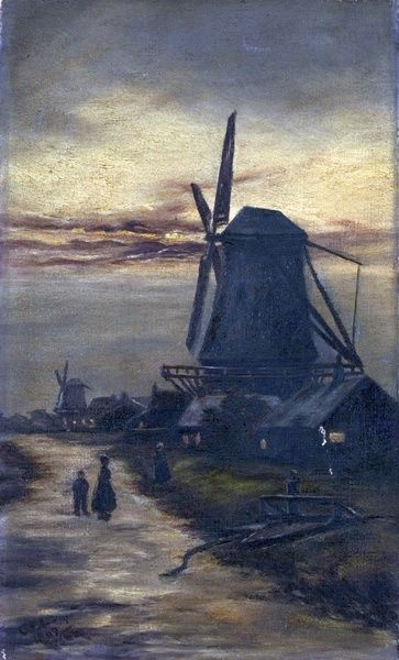 Windmills - Unknown Artist