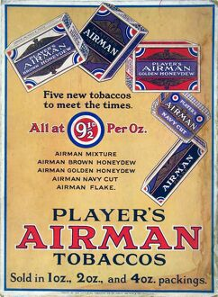 Airman Tobacco: Five new tobaccos, 1928=30