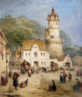 Andernach, Prussia, by George Jones, 1863