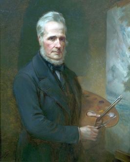 The Artist Henry Dawson (1811-1878) - William Holmes Sullivan