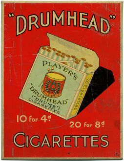 Ask for Player's Drumhead Cigarettes: Irish Manufacture, 1934