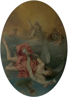 Astraea Returns to Earth (The Apotheosis of Charles II) - John Michael Wright