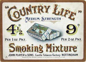 Country Life tobacco, 1905