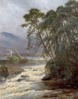 On the Dockart, Killin, Perthshire, Scotland