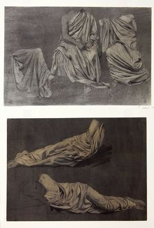 Drapery Studies from the Model, by Harold Knight, 1894
