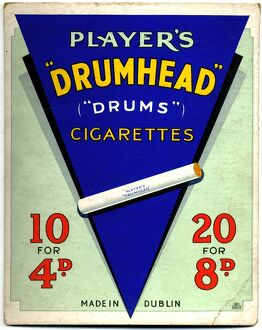 Drumhead Cigarettes: Made in Dublin, 1934
