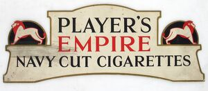 Empire Navy Cut cigarettes, 1927=28