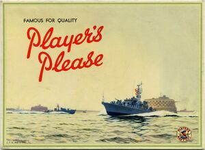 Famous for quality: Player's Please, 1958