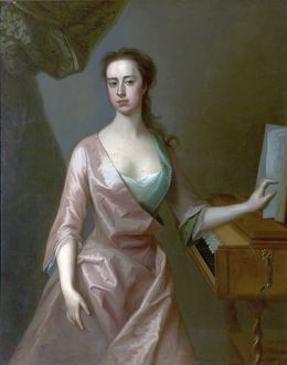 Frances, Lady Byron (d.1757), Third Wife of the 4th Lord Byron