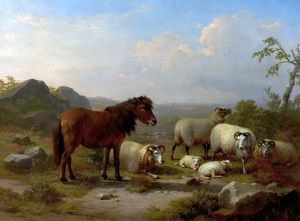 Good Friends - Eugene Joseph Verboeckhoven