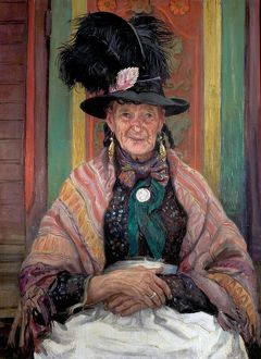 Gypsy Splendour - Laura Knight