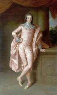 Henry Fiennes Pelham Clinton (1750-1778), Earl of Lincoln - Gainsborough Dupont