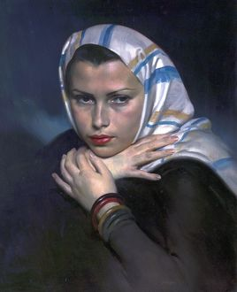 Jewish Refugee, Vienna, by David Jagger, 1938