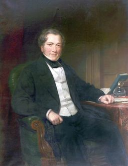 John Heathcoat Heathcote, Inventor of the Bobbin Net Machine, by Willaim Gush, 1830