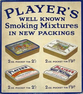 Mixed tobacco brands, 1928