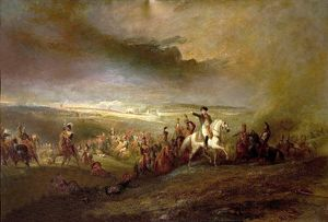 Napoleon Leaving the Field of Waterloo, 18th June 1815