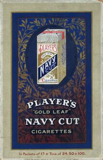 Navy Cut Gold Leaf Cigarettes, 1920=21