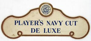 Navy Cut De Luxe, 1929=30