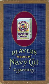 Navy Cut Medium Cigarettes, 1920=24