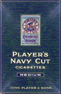 Navy Cut Medium Cigarettes, 1921=22