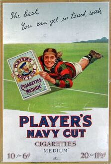 Navy Cut Medium Cigarettes, 1926