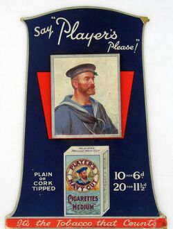 Navy Cut Medium Cigarettes, 1928=29