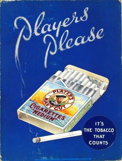 Navy Cut Medium Cigarettes, 1935=36