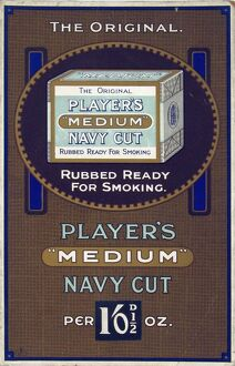 Navy Cut Medium tobacco, 1925=26