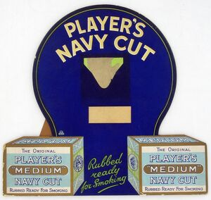 Navy Cut Medium tobacco, 1926=27
