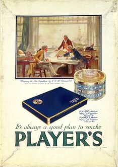 Navy Cut Medium Tobacco and Cigarettes, 1928
