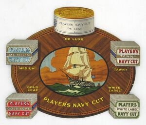 Navy Cut mixed brands, 1921-22