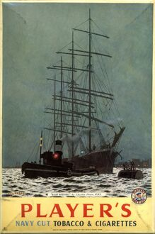 Navy Cut: Night Moorings, 1952