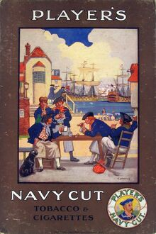 Navy Cut Tobacco and Cigarettes, 1916=26