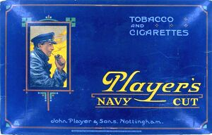 Navy Cut Tobacco and Cigarettes, 1921