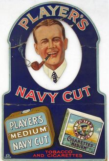 Navy Cut Tobacco and Cigarettes, 1922