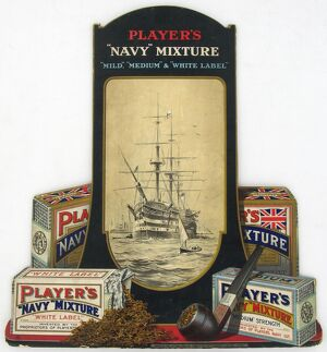 Navy Mixture tobacco, 1920