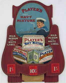 Navy Mixture tobacco, 1922