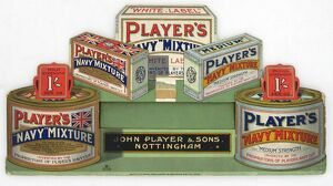 Navy Mixture tobacco, 1924