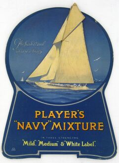Navy Mixture tobacco, 1925