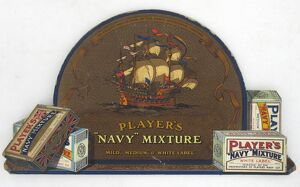 Navy Mixture tobacco, 1927